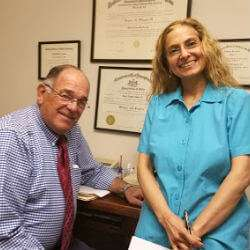Dr. Jodie A. Dashore with Dr. Eugene Shippen