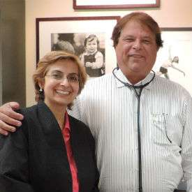 Dr. Jodie A. Dashore with Dr. Joseph Jemsek