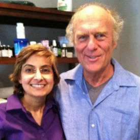 Dr. Jodie A. Dashore with Dr. Dietrich Klinghardt